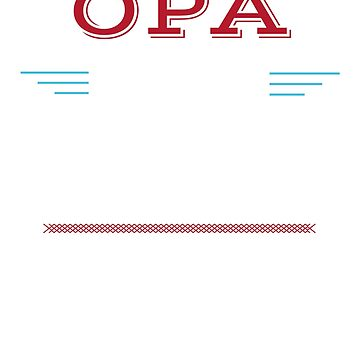 Opa Gift, Opa The Man The Myth The Legend. Show OPA how special he is! Opa Father's Day, Birthday Gift by shelley321