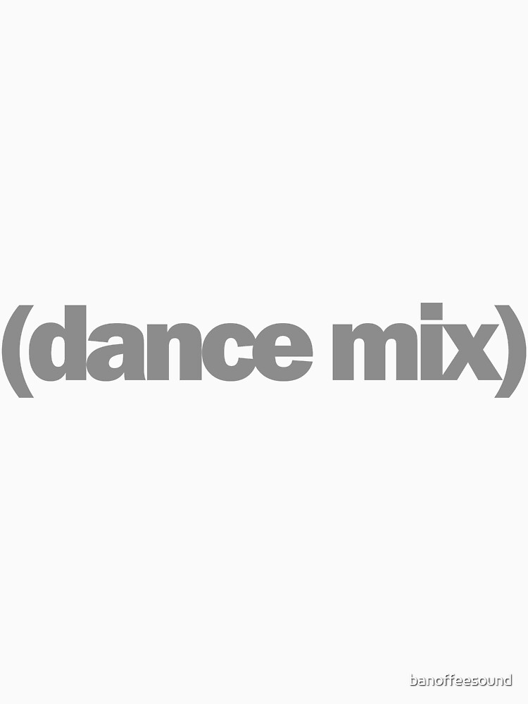 Dance mix by banoffeesound