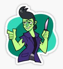 Knuckle Sandwich - Mystery Man Sticker