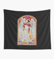 Morningstar - Stained Glass Wall Tapestry