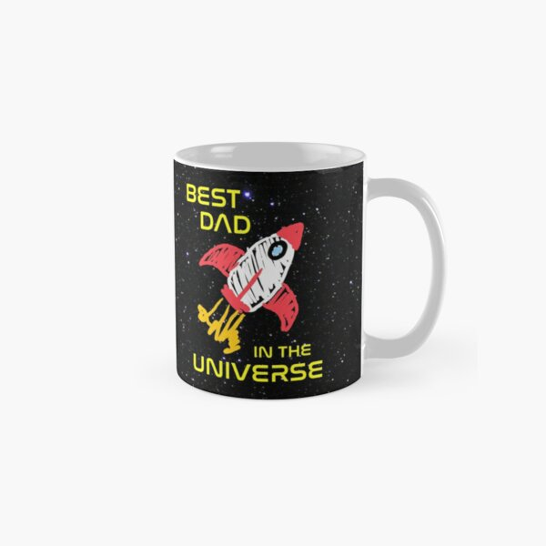 Best Dad in the Universe Classic Mug