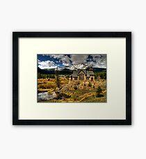 Church on the Hill Framed Print