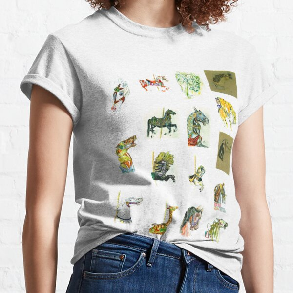A whole slew of carousels! Classic T-Shirt