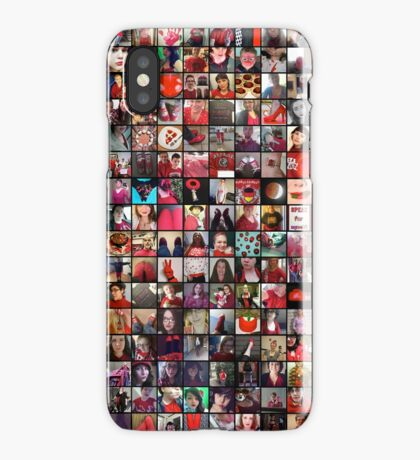 #WalkInRed2015 Collage B iPhone Case