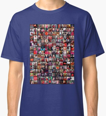 #WalkInRed2015 Collage B Classic T-Shirt