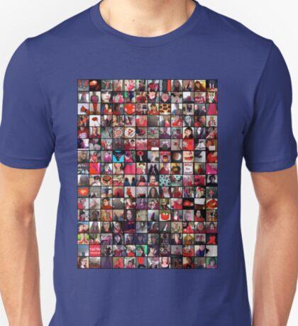 #WalkInRed2015 Collage B T-Shirt