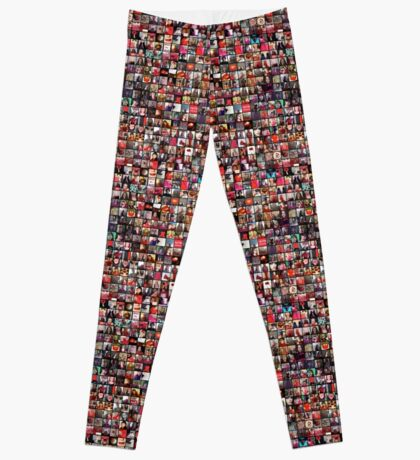 #WalkInRed2015 Collage B Leggings