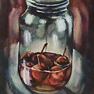 Still life: Paradise Apples, Contained by Oleg Atbashian