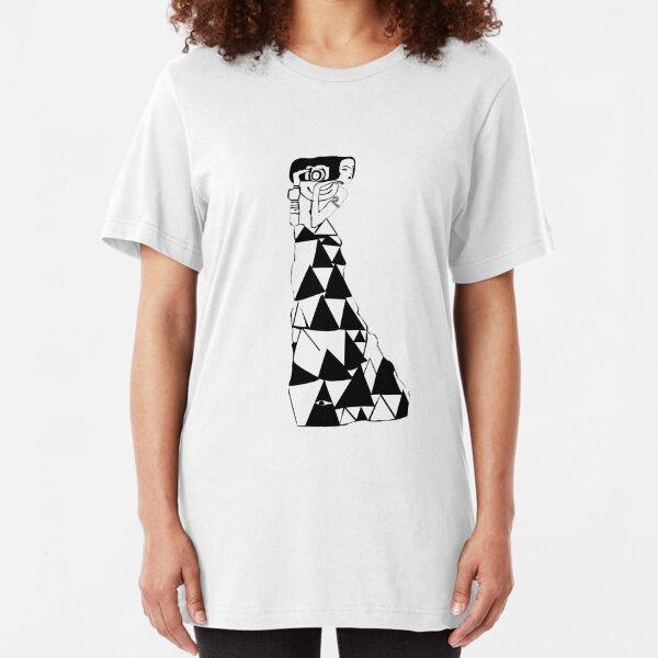 watching women -- klimt (light) Slim Fit T-Shirt