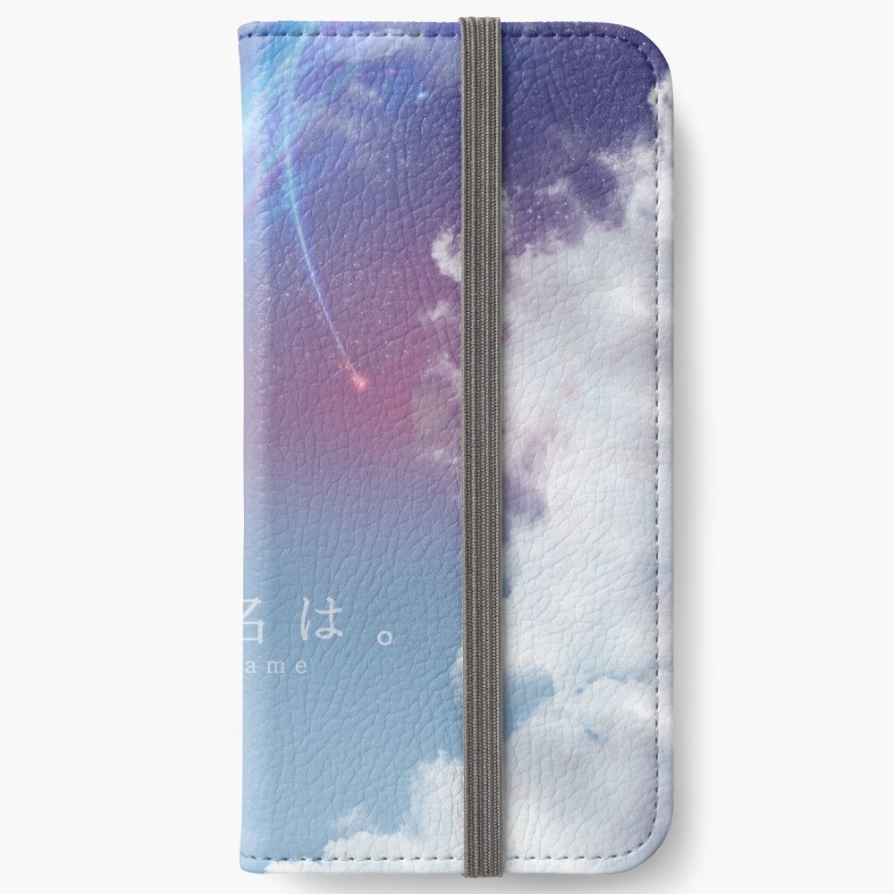 Kimi nicht na wa - SKY iPhone Flip-Case