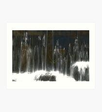 Geared Falls 2 Art Print