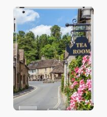 Tea Rooms, Castle Coombe, Wiltshire iPad Case/Skin