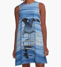 Seagull  A-Line Dress