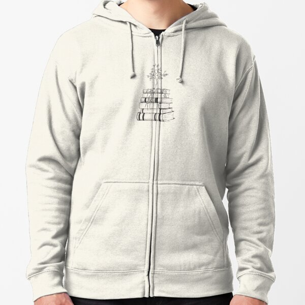 The Roots of Knowledge  Zipped Hoodie