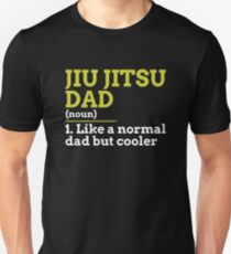 Jiu Jitsu Dad Slim Fit T-Shirt