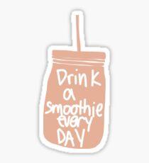 pink drink a smoothie everyday  Sticker