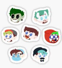 Ego Blobs Sticker