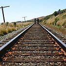 Walking Along The Tracks by Christopher Toumanian