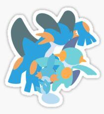 Mudkip Evolution Sticker