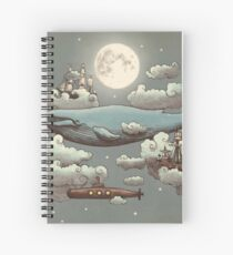 Ocean Meets Sky  Spiral Notebook