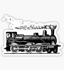 Vintage European Train  Sticker