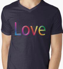 L is for..... Mens V-Neck T-Shirt