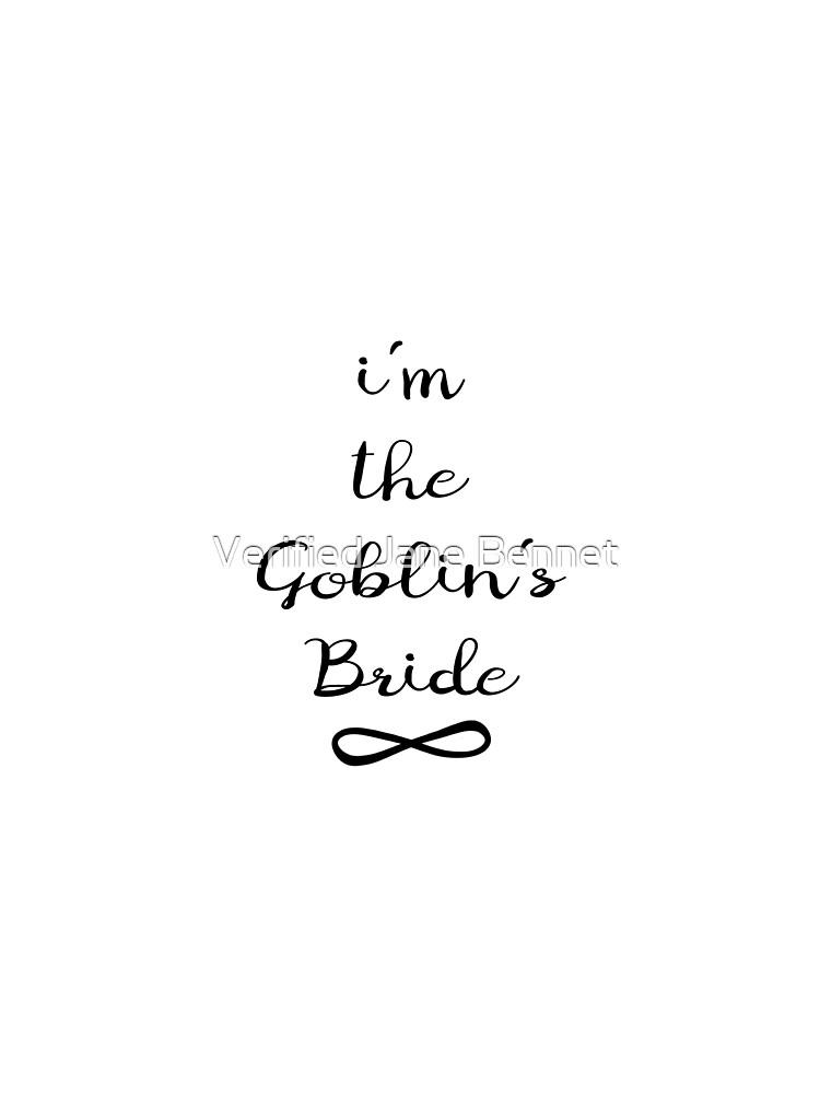 Goblin's Bride  by jordan804
