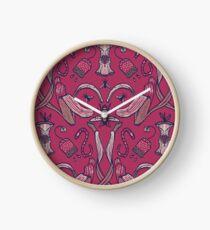 Rubbish Pattern Clock