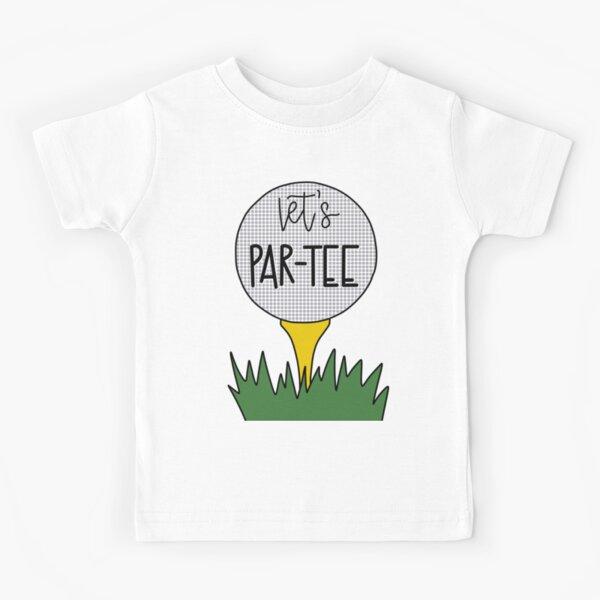 Let's Par Tee Golf Pun Kids T-Shirt