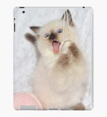 Goofy Kitty iPad Case/Skin