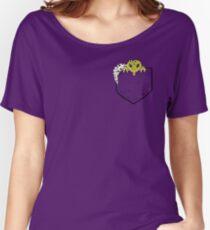 Leopard Gecko in Pocket Women's Relaxed Fit T-Shirt