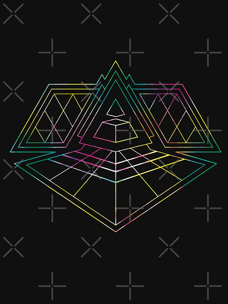 Daft Punk Alive Pyramid — Type A by Obtineo