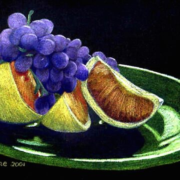 Colourful Fruit by TeAnne