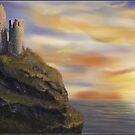 Dunluce castle by Victoria  _Ts