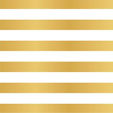 Gold & White Stripes by jofices