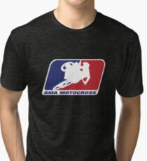 Ama Motocross Merchandise Tri-blend T-Shirt