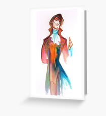 Il Cavaliere (Don Giovanni) Greeting Card