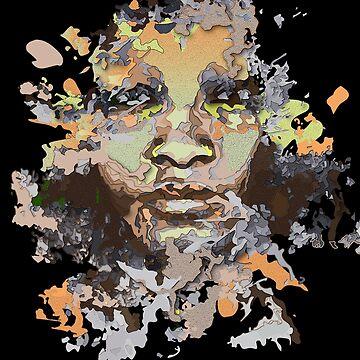 Melanin Popping / Black Girl Magic T-Shirt by GOATsOfficial