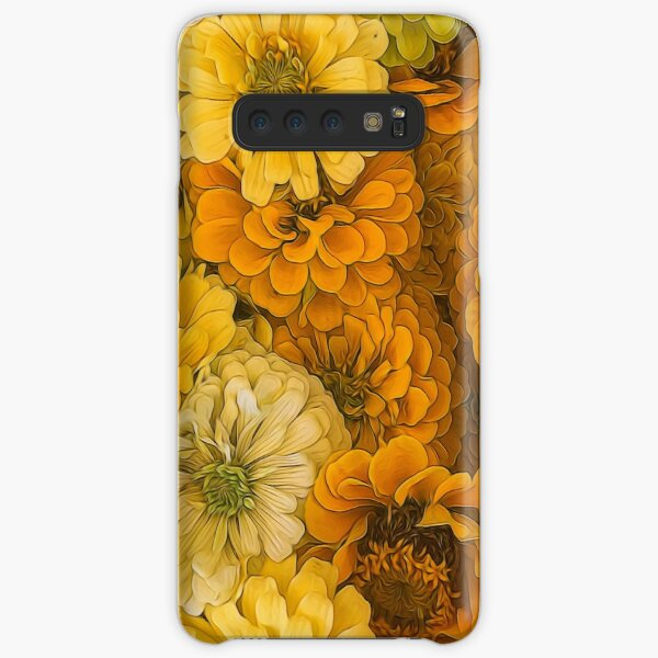 Yellow Zinnias Samsung Galaxy Snap Case
