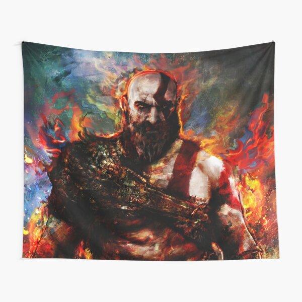 Kratos of war Tapestry