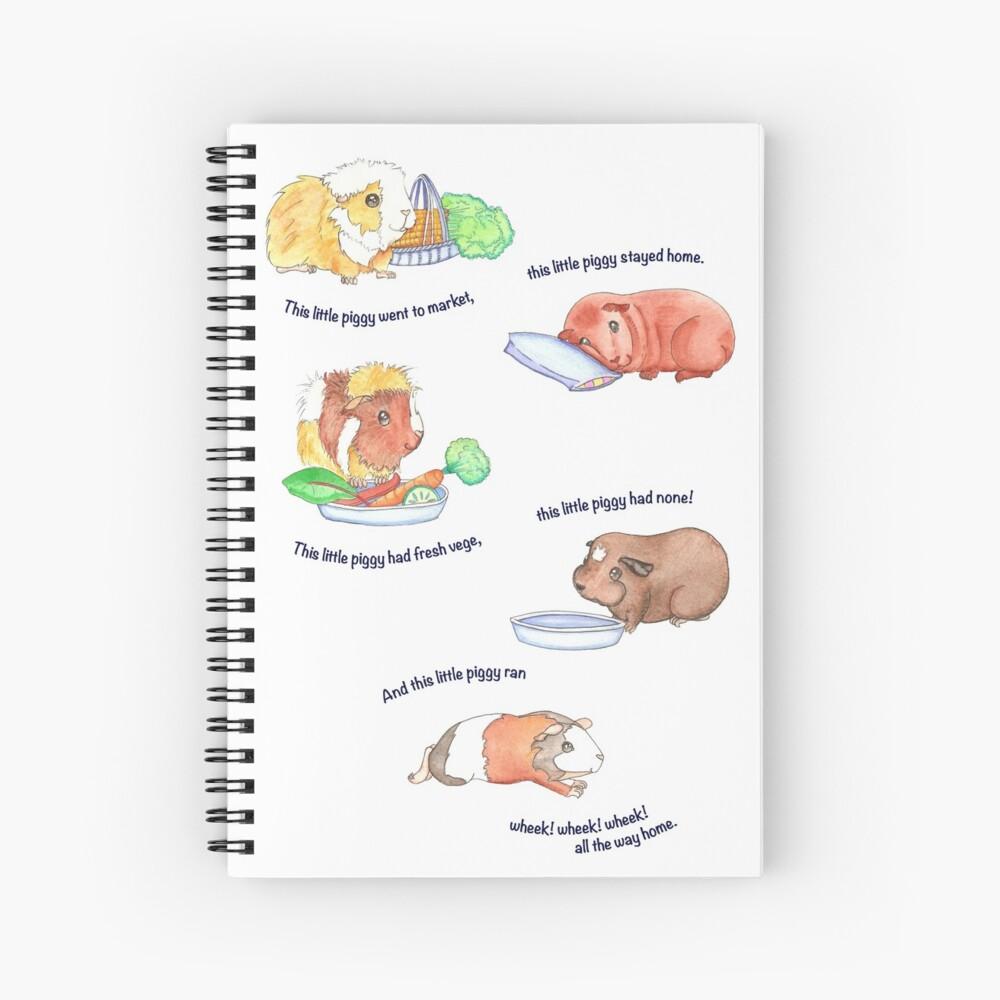 Este Litte Piggy Cuaderno de espiral