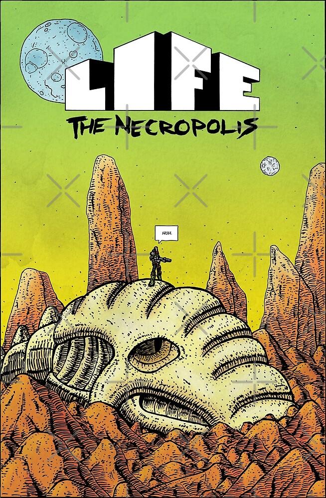 Life The Necropolis: Skull by LifeNecropolis