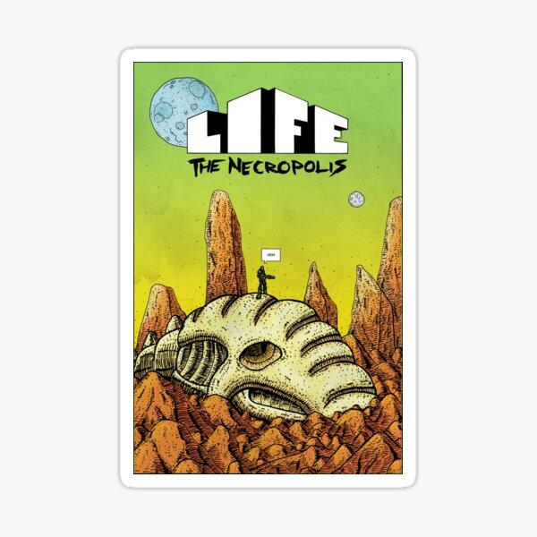 Life The Necropolis: Skull Sticker