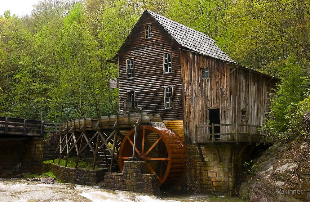 Glade Creek Grist Mill by KSkinner