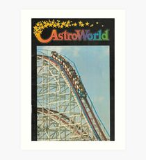 Astroworld Art Print