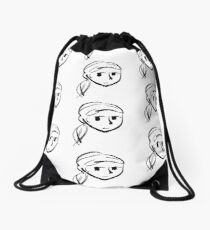 untitled-02 Drawstring Bag