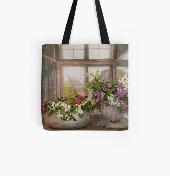 Swedish Summer All Over Print Tote Bag
