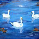Swan Lake by Kostas Koutsoukanidis