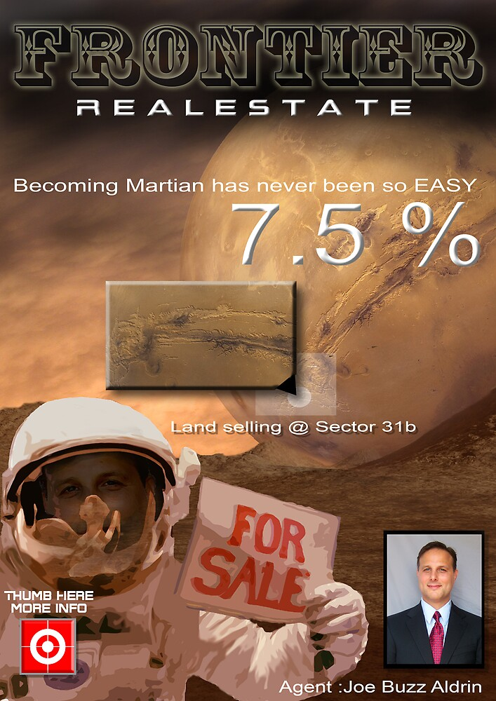 Becoming Martian by Cliff Vestergaard