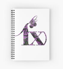 Periwinkle Blossom - f(x) Spiral Notebook